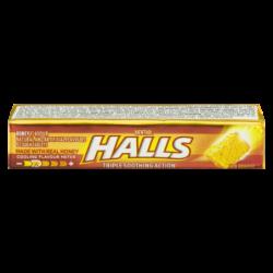 HALLS COUGH TABLETS HONEY -...