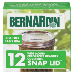 BERNARDIN WIDE MOUTH LIDS -...
