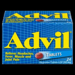 ADVIL TABLETS 24S - 24 Pack