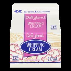 DAIRYLAND WHIPPING CREAM -...