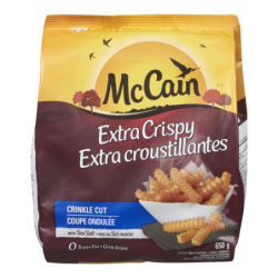 MCCAIN XTRA CRISPY CRINKLE...