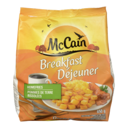 MCCAIN HOME FRIES - 650 Grams