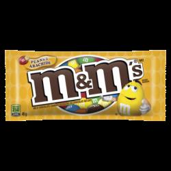 M&M CHOCOLATE PEANUT...