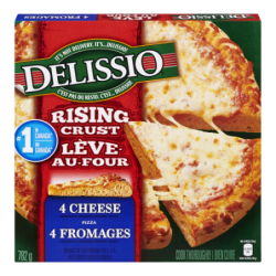 DELISSIO RC 4 CHEESE PIZZA...