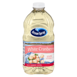 OCEAN SPRAY WHITE CRANBERRY...