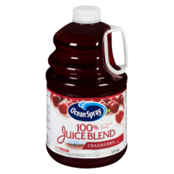 OCEAN SPRAY 100% CRANBERRY...
