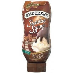 SMUCKERS CHOCOLATE SYRUP -...