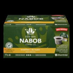 NABOB PODS BREAKFAST COFFEE